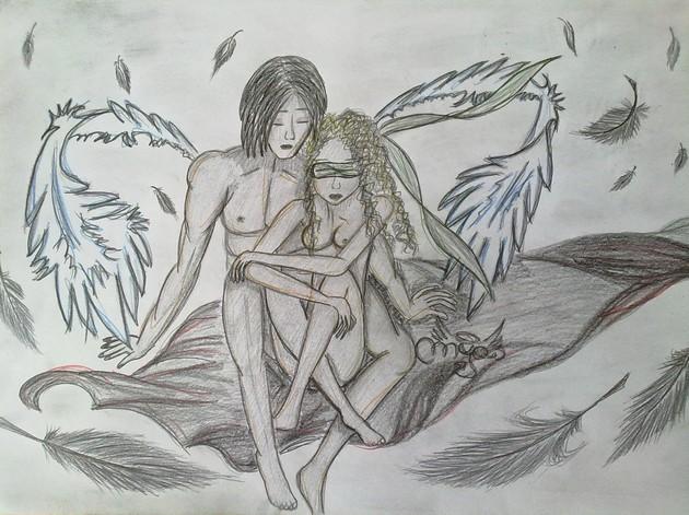 Eros a Psyché (Mya)