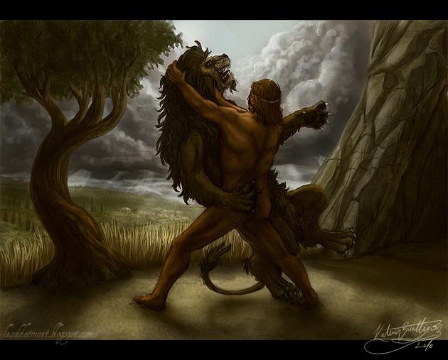 Héráklés a Nemejský lev (LeSoldatMort)