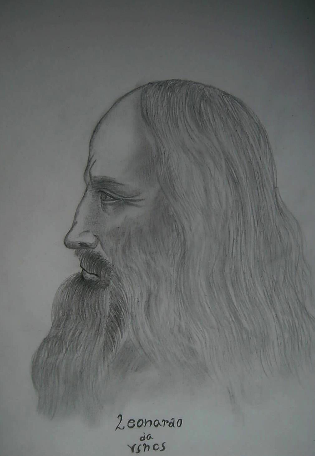 Leonardo da Vinci (wolfgoth)