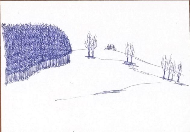 Zima v Jizerkách (Fido)