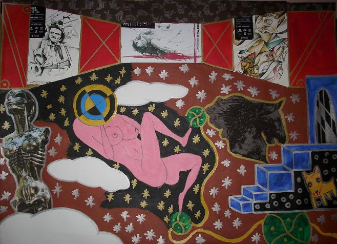 AKT a X v galerii