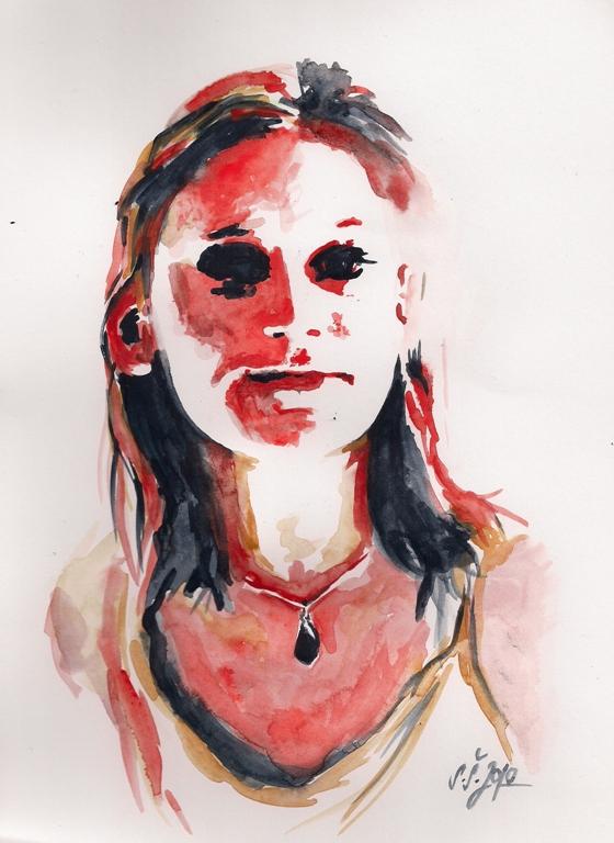 Autoportrét (Sonia)