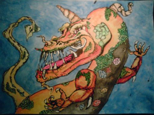 drak Strážce pokladu (jentak)