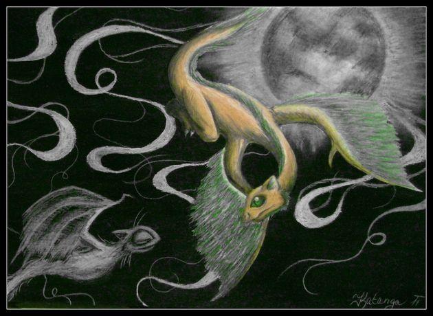 Láska k barvě Luny (Katanga)