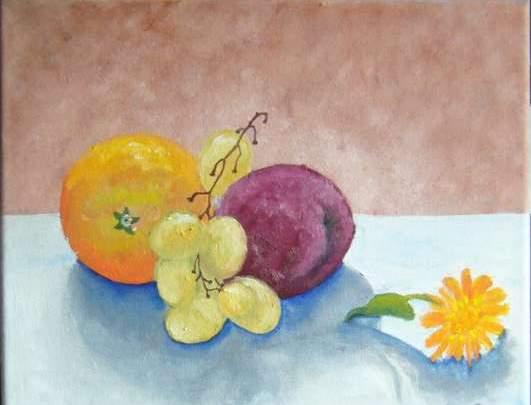 zátiší s ovocem  (tapka)