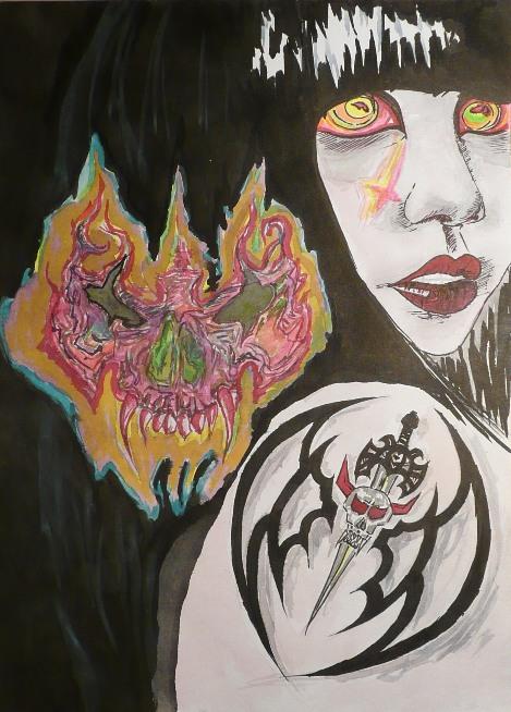 Zlem posedlá