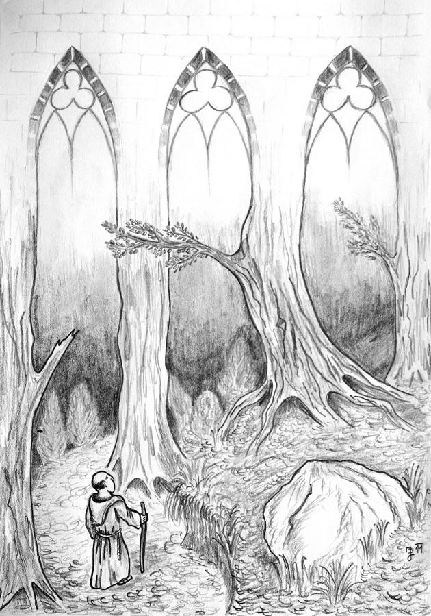 V chrámu lesa