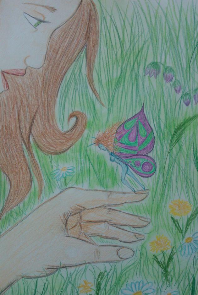 to není motýl (Mya)