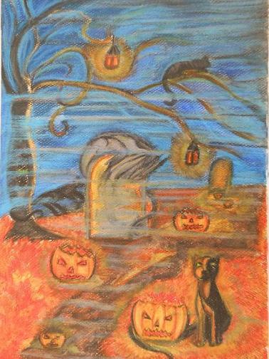 na hřbitově (Plumosus)