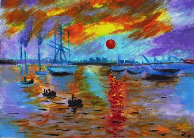 Impression solei levant (Shui)
