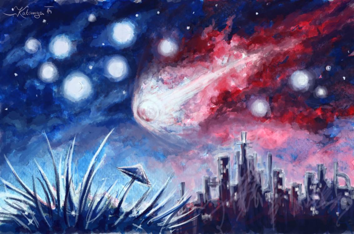 Pád hvězdy (Katanga)