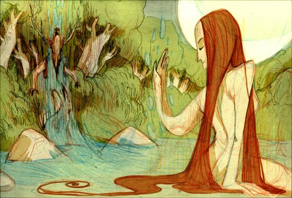 Artemis a Actaeon (Faquarl)