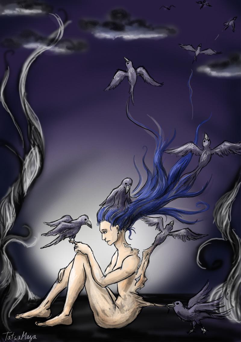 Roztáhnout křídla a...odletět? (TatsuMaya)