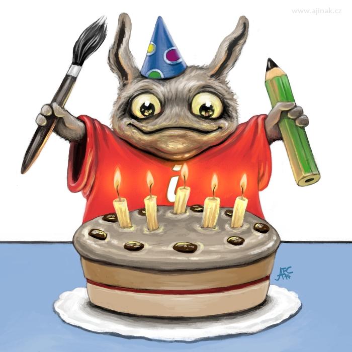 Páté narozeniny