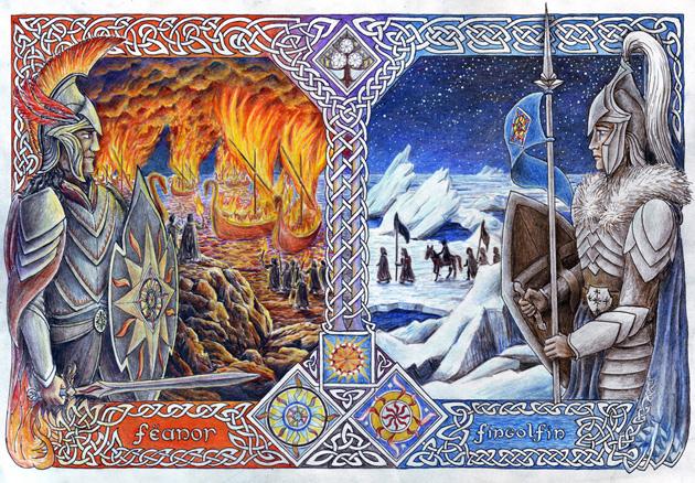 Bratři - oheň a led (Neral85)