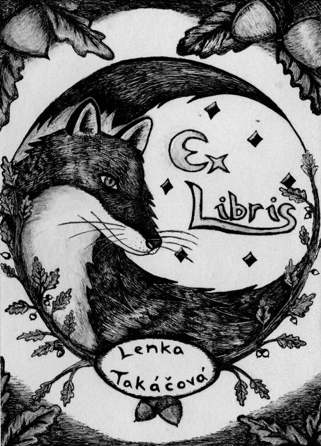 Ex Libris - Liška (Alinnela)