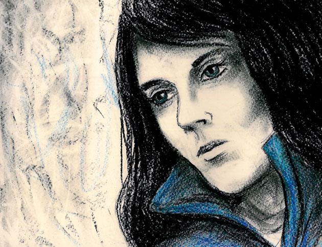Modrý pršiplášť (Saima)