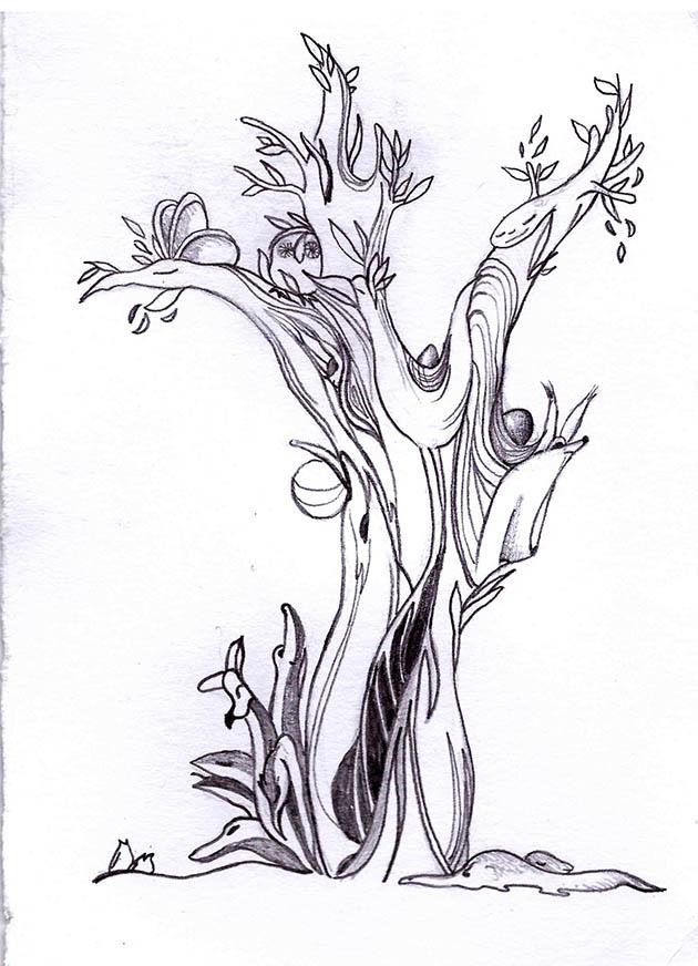 Hádanka ve stromě (MERCI)