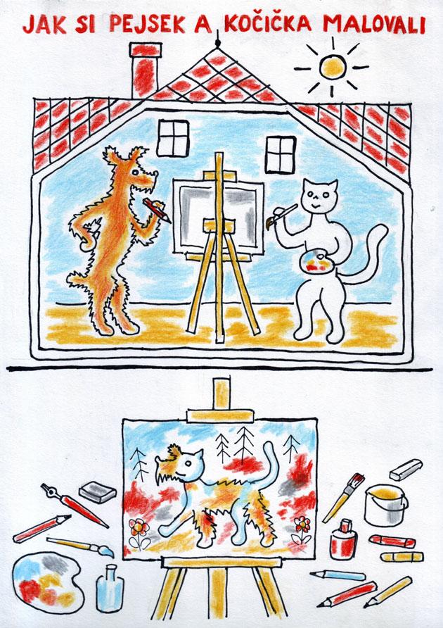 Jak pejsek a kočička malovali (Neral85)