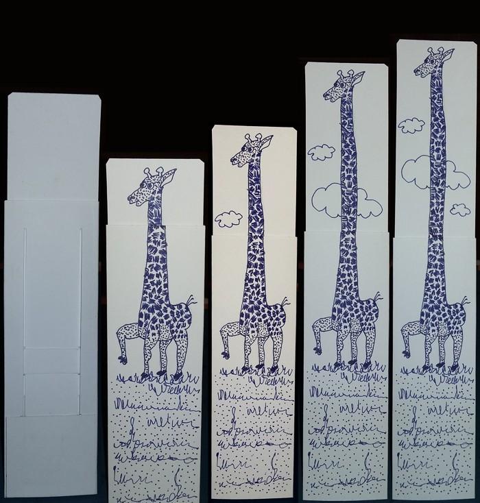 Zvědavá žirafa