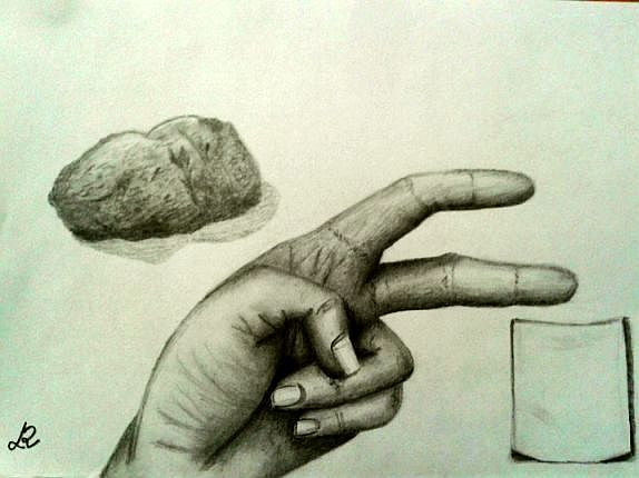 Kámen, nůžky, papír...