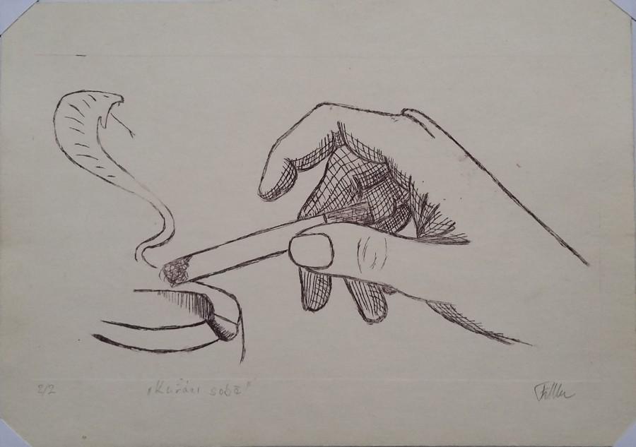 Kuřáci sobě