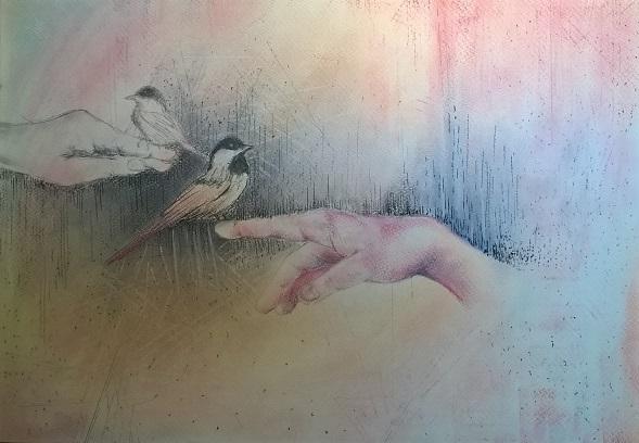 Pták na ruce (janipiti)