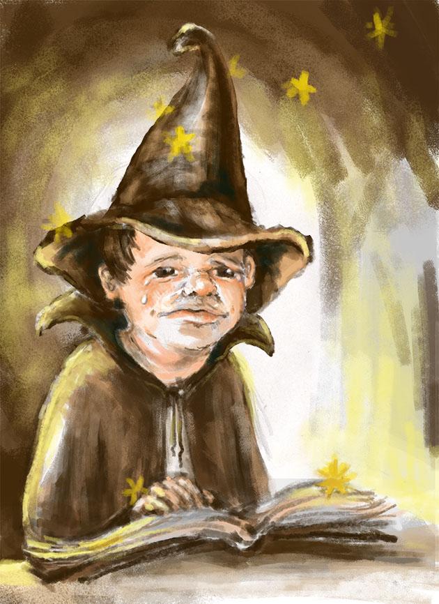 Čarodějův učeň  (MERCI)