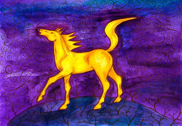 Příliš žluťoučký kůň (Kenzie)
