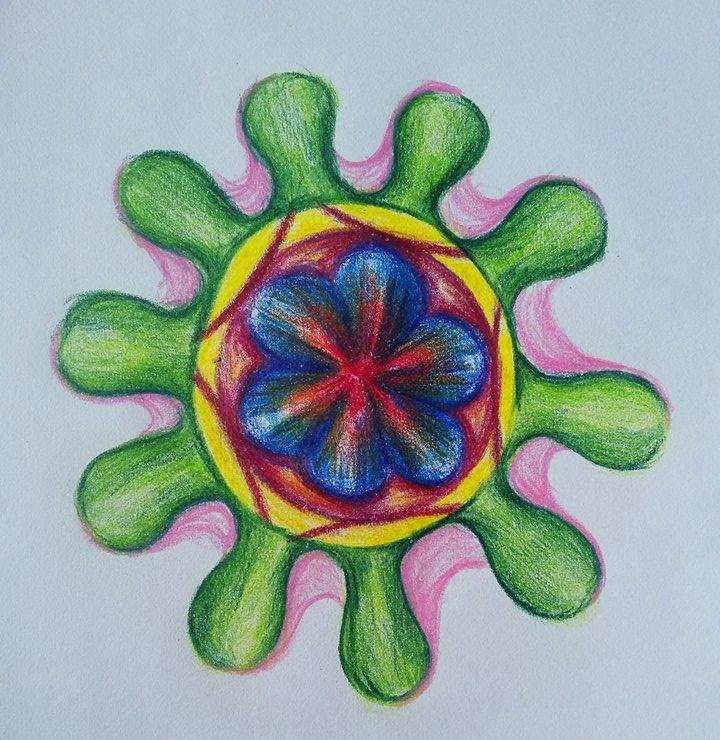 květinová mandala (MEliska)