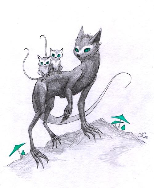Trochu kočka, trochu ne... (Katanga)