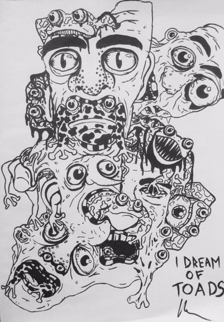 Sny o žábách (toad)