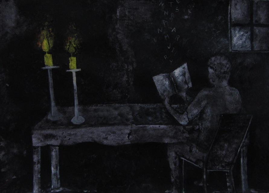 Při svitu svíček