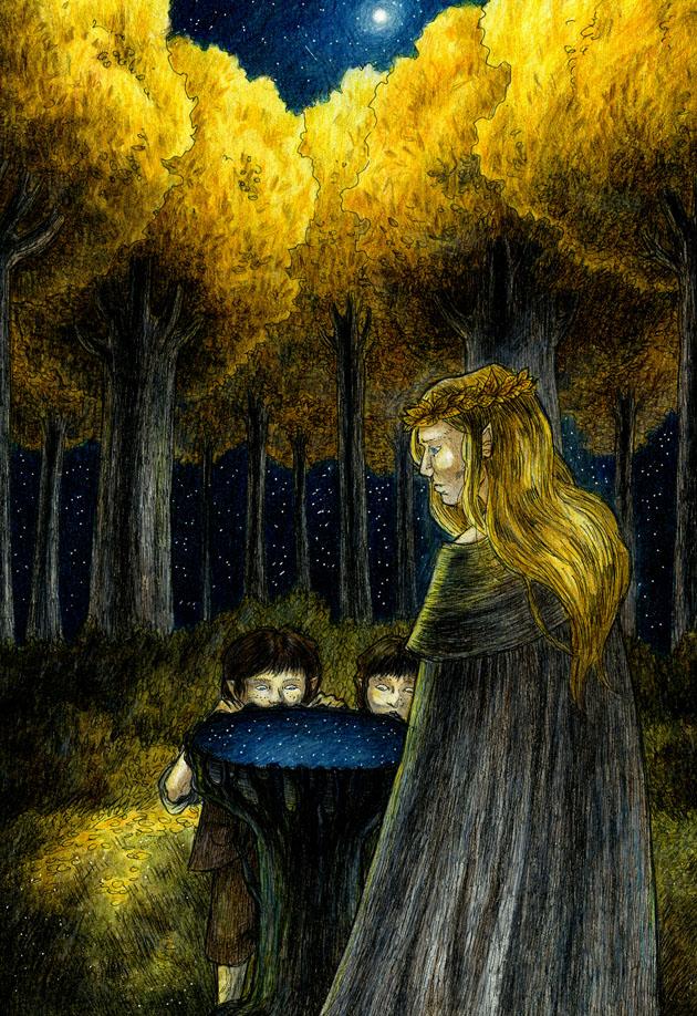 Zrcadlo Galadriel (aegeri)