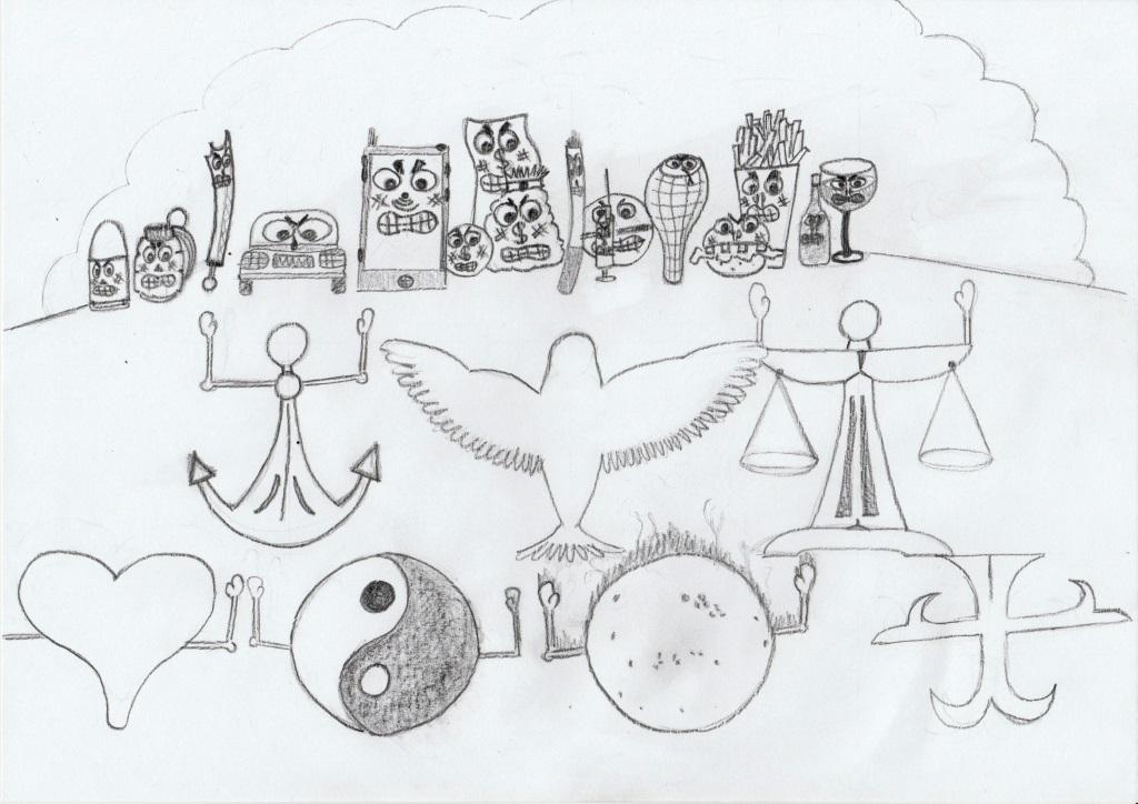Symbolických 7 statečných (karelik)
