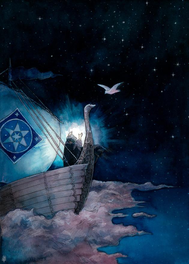 Nebeská plavba (aegeri)