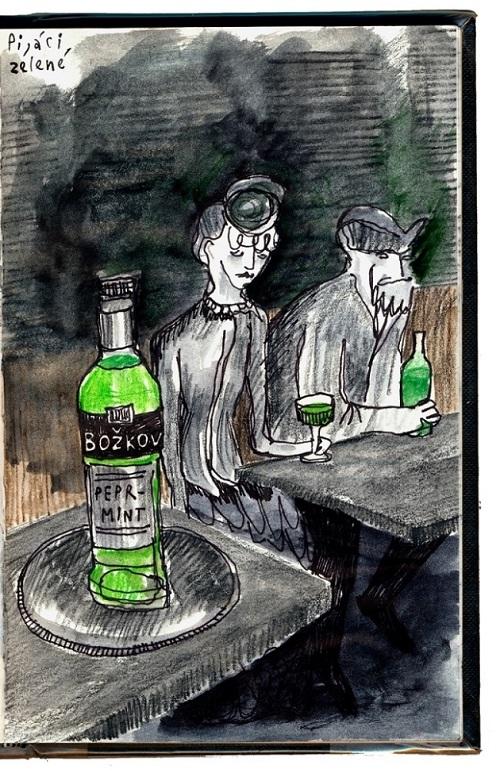 Pijáci zelené