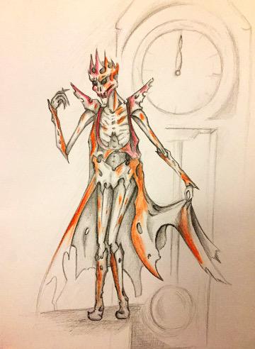 Maska červené smrti (Kenzie)