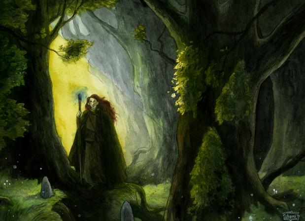 Cestou na čarodějnický sraz (aegeri)