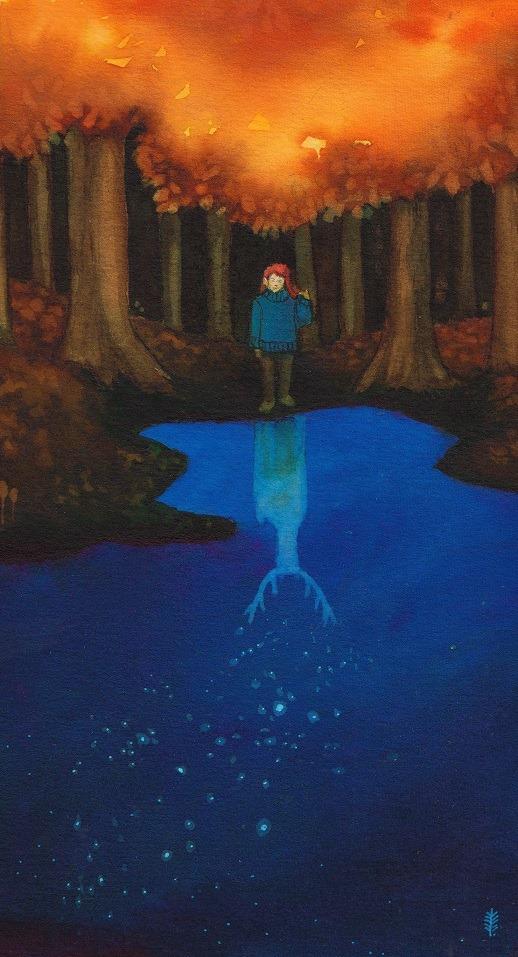 Setkání s duchem lesa (aegeri)