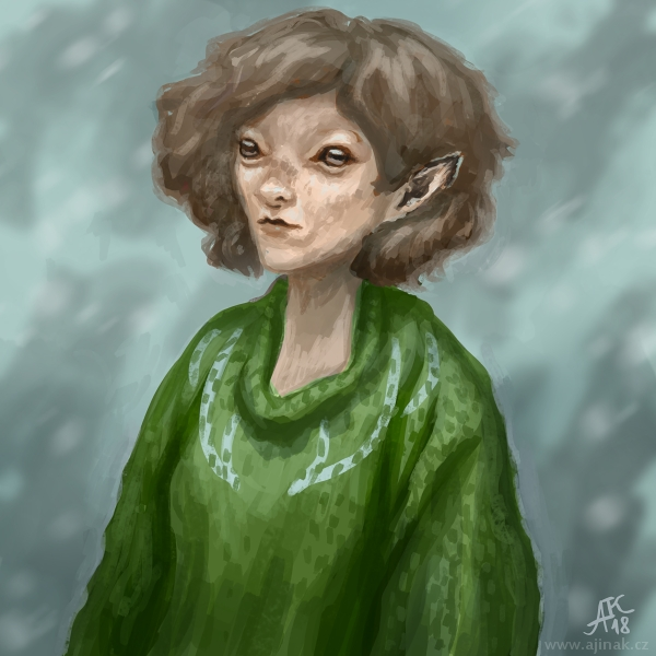 Jelena ve svetru (ajinak)