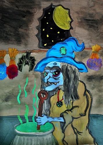 Ježibaba (wolfgoth)