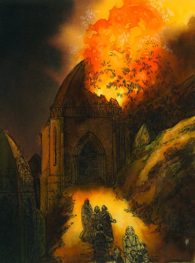 Rath Dínen - Denethorova smrt (aegeri)