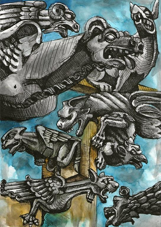 Chrlič - démon svatyní (Jolly)