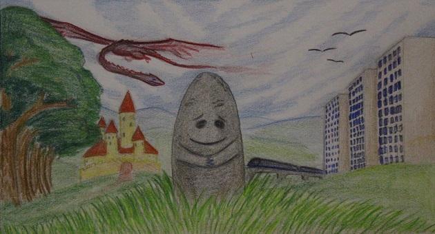 Hraniční kámen (belladonna)