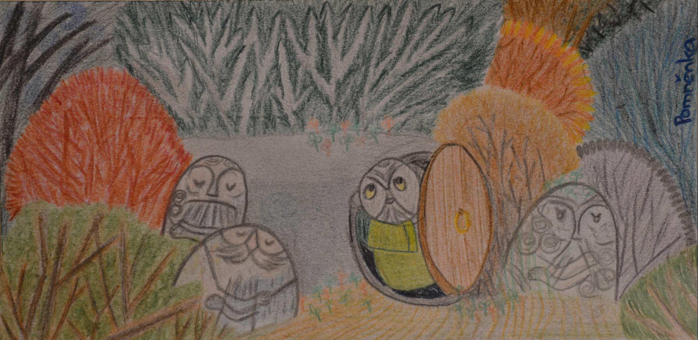 Kamenní přátelé (pomnenka)