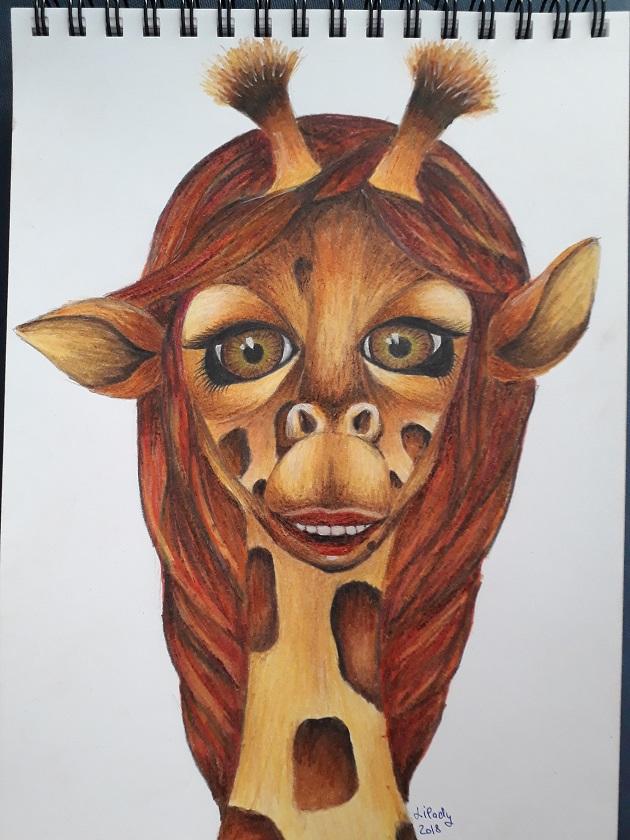 Slečna Žirafa (lilady)