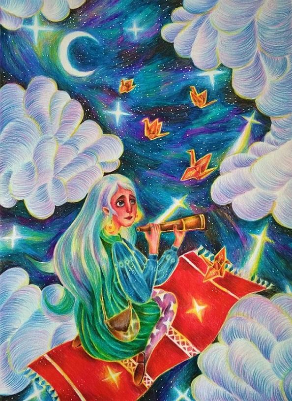 Elis a padající hvězdy (Harumi)