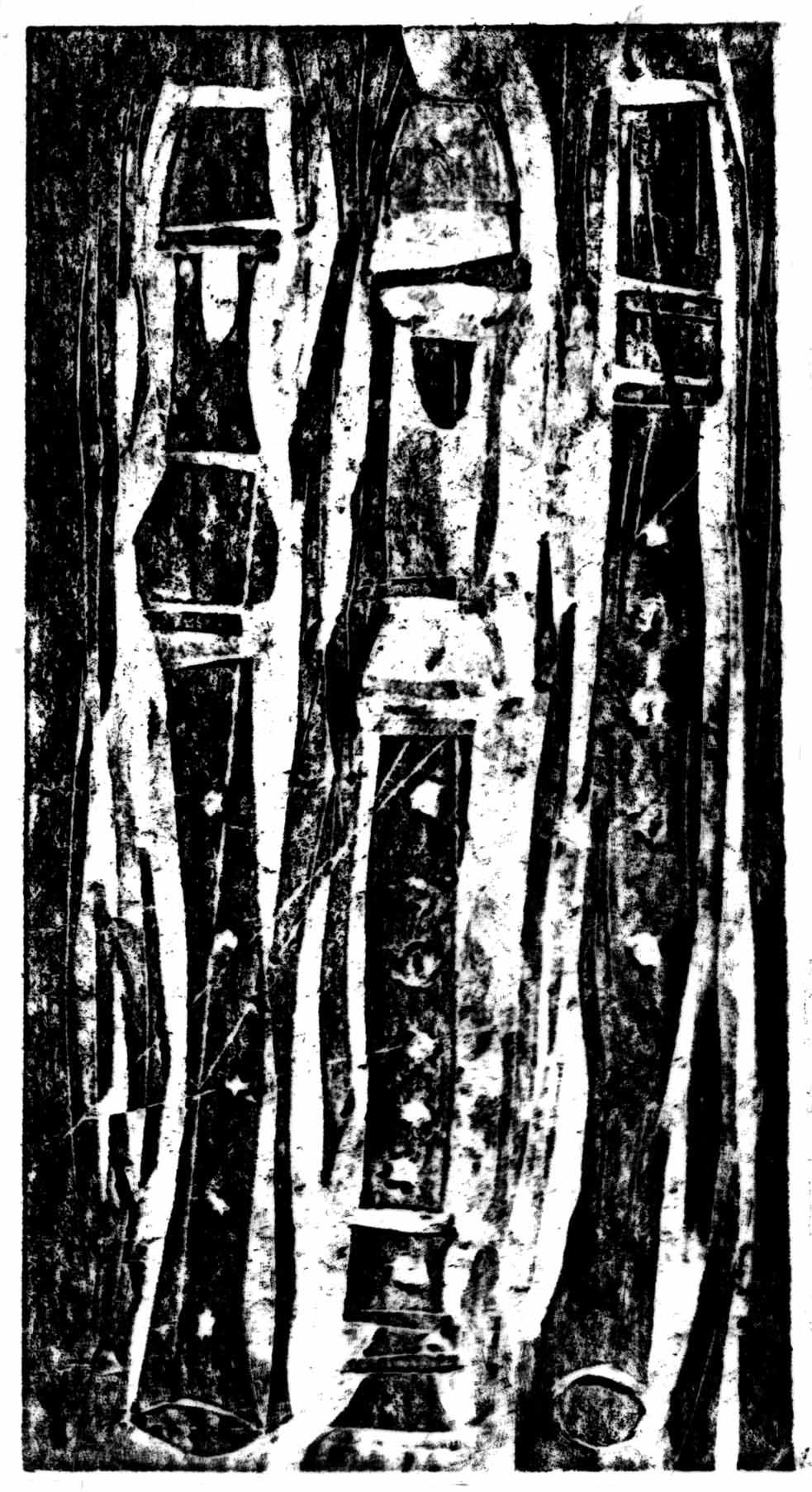 Tři flétny