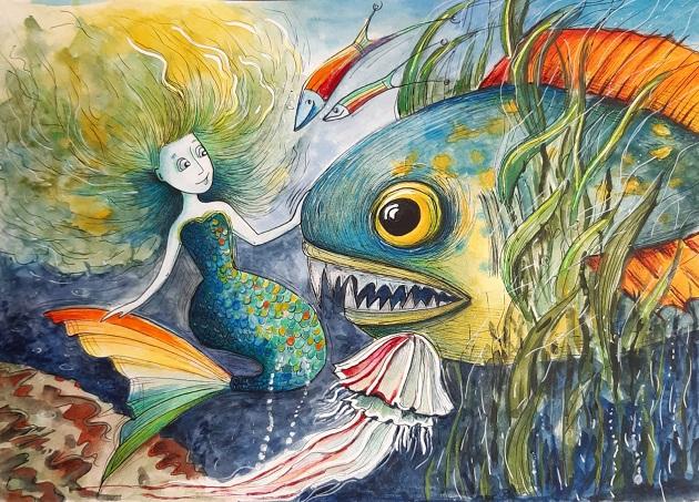 Mořská panna (Jituska)